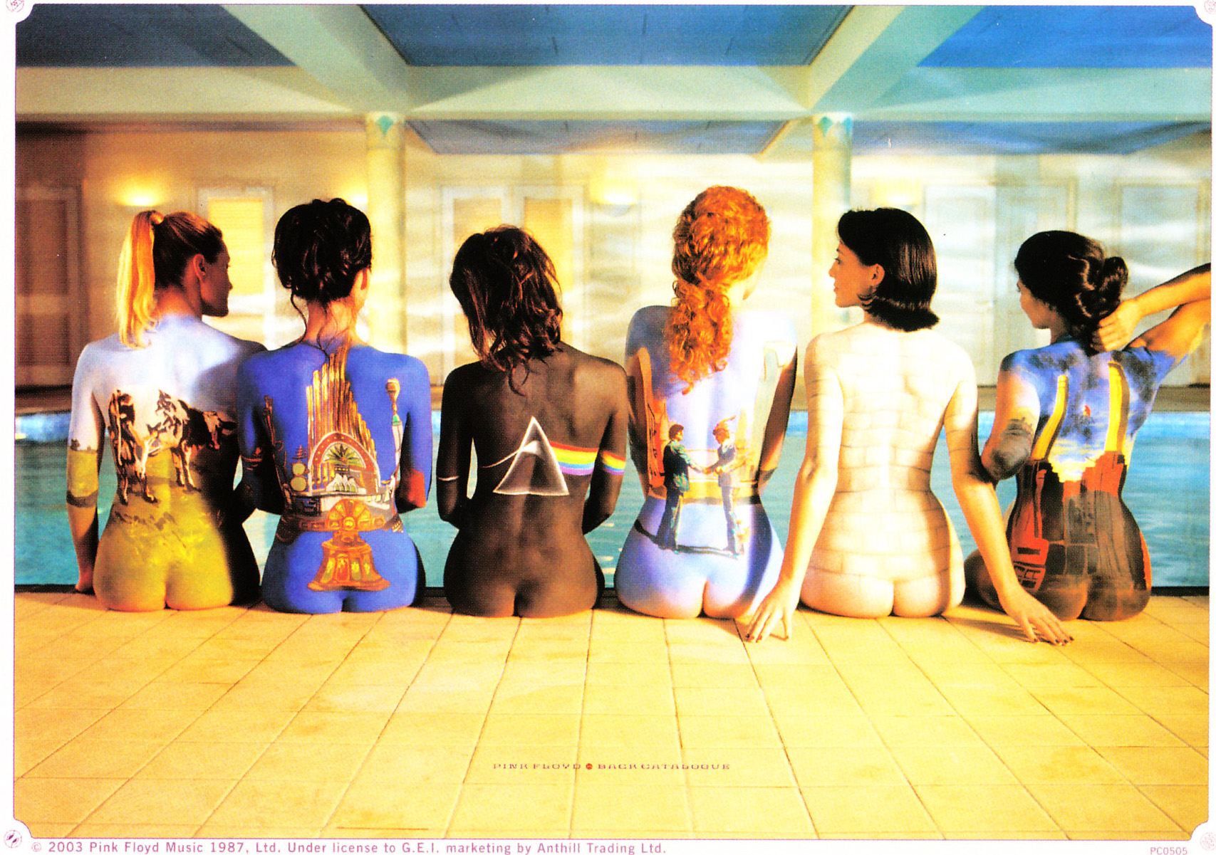 Outstanding Pink Floyd The Wall Cover Art Model - Art & Wall Decor ...